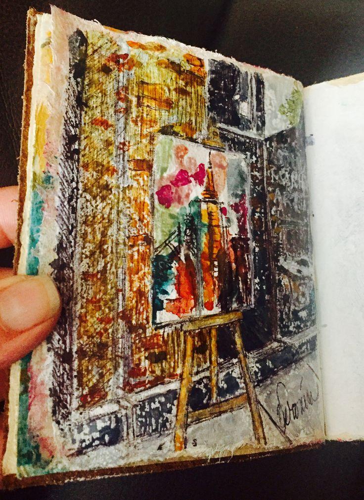 My latest journal addition: Trip to NYC, w/Chris Brooks...