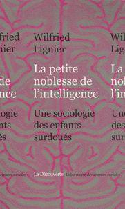 Wilfried Lignier - La petite noblesse de l'intelligence - Une sociologie des enfants surdoués.  https://hip.univ-orleans.fr/ipac20/ipac.jsp?session=14D269V70813V.4762&profile=scd&source=~!la_source&view=subscriptionsummary&uri=full=3100001~!612164~!1&ri=3&aspect=subtab48&menu=search&ipp=25&spp=20&staffonly=&term=petite+noblesse+de+l%27intelligence&index=.GK&uindex=&aspect=subtab48&menu=search&ri=3