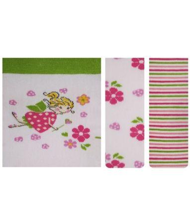 Детские колготки для малыша девочки Conte-kids 14С-79СП tip-top с рисунком 357 волшебная фея светло розовые