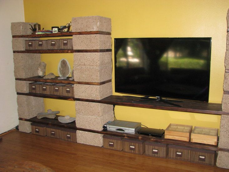 Bookshelf / Entertainment Center in Magnolia Center, Riverside ~ Apartment Therapy Classifieds