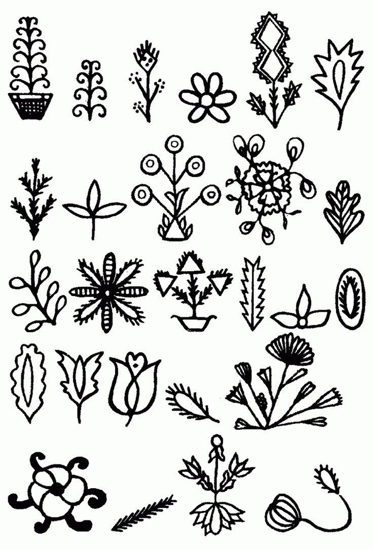 горке, рисунки и картинки символами цветок глаза
