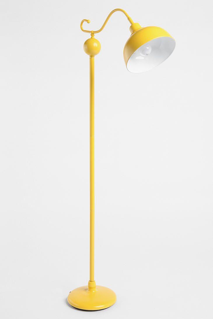 Yellow lamp base - Stella Floor Lamp