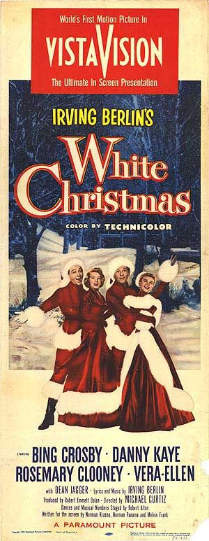 WHITE CHRISTMAS (1954, United States). It's totally cheesy but i love it...