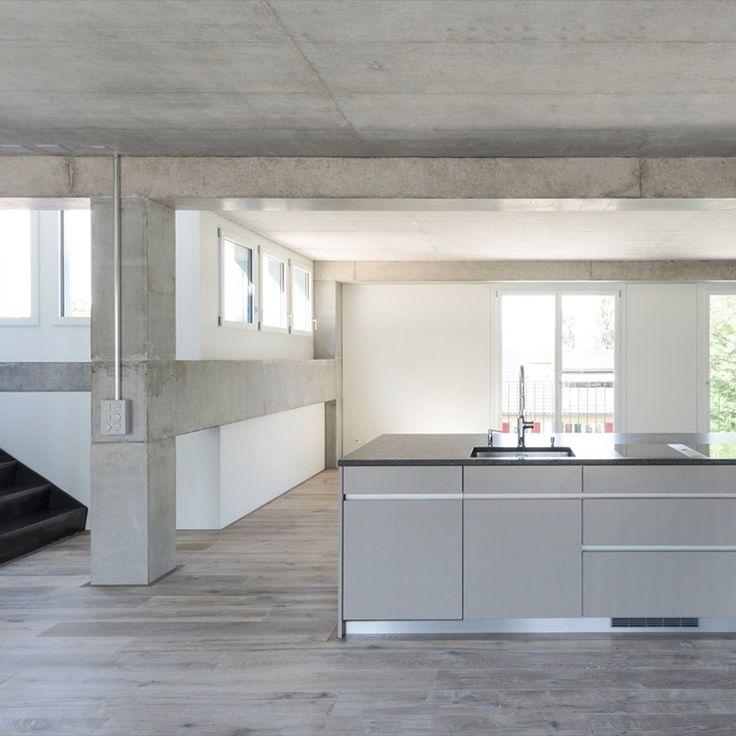 PO4 Seile & Den Hartog Architekten - House for an artist, Frauenfeld 2015