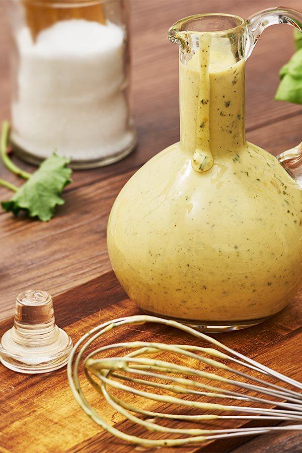Ein Klassiker Unter Den Salat Dressings French Dressing Aus Joghurt Senf Und Leckeren Gewurz Salatdressing Rezept Joghurt Senf Dressing Salatsaucen Rezepte
