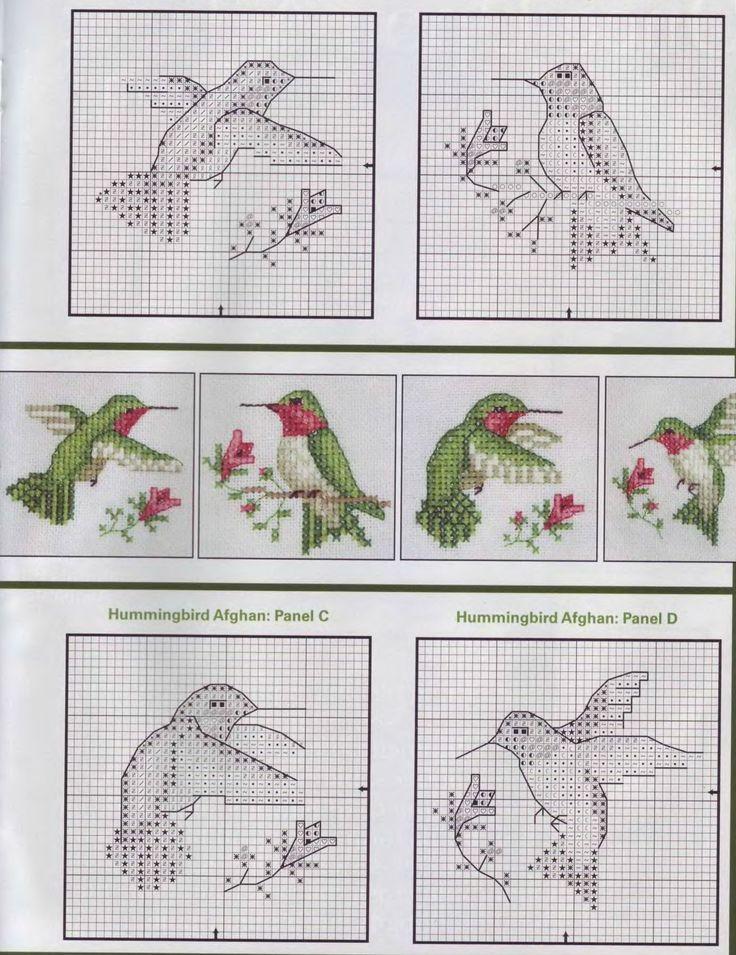 Hummingbird Cross Stitch