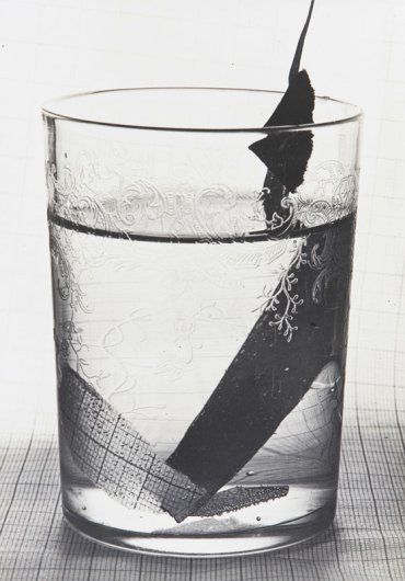 """GRETE STERN """"GLASS WITH PAPER,"""" 1931"""