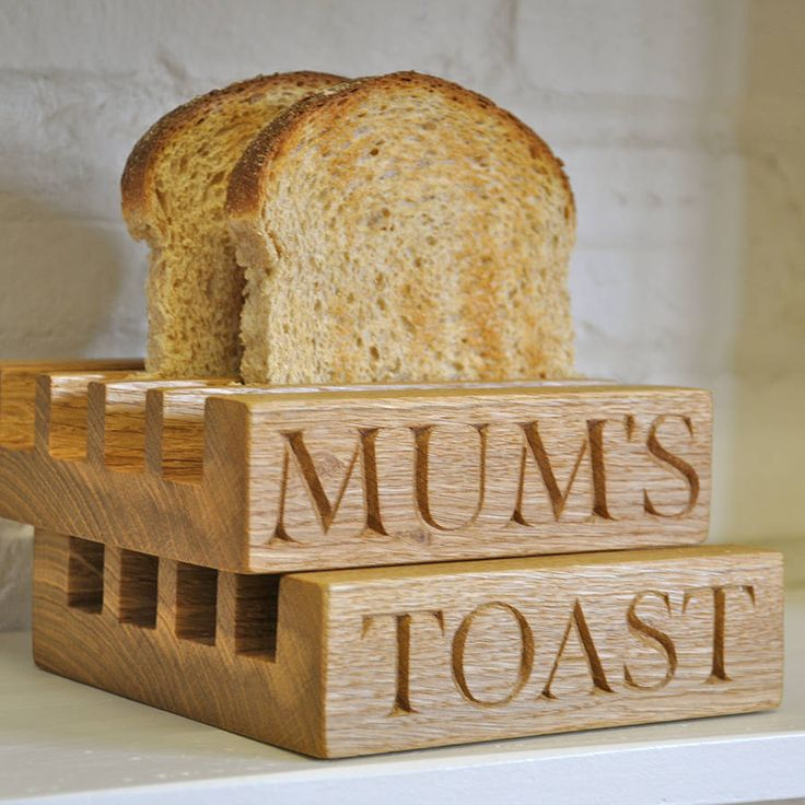 Toast rack. Can someone make me a quaint wooden one like this?
