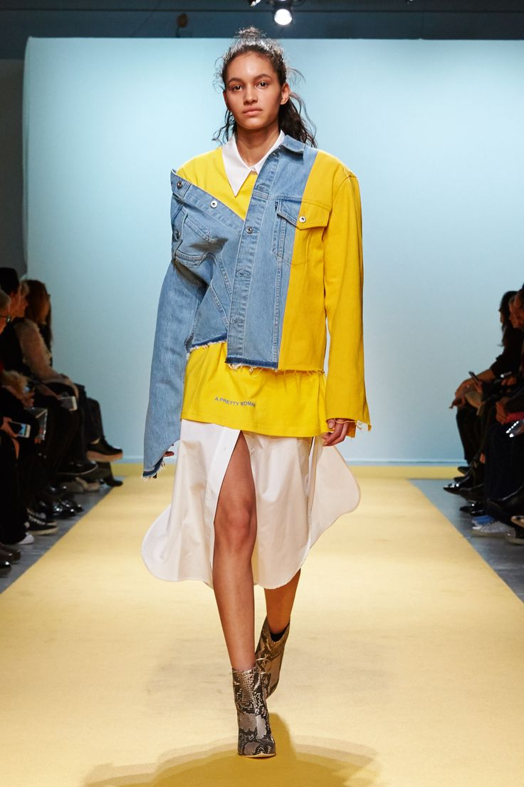 Designer Virgil Abloh featured some of our Made & Crafted denim in his latest Off-White fashion show at Paris Fashion Week. Here's a snapshot from the show. via @voguemagazine