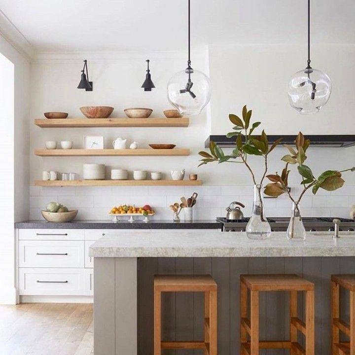 Tuck Plumbing Fixtures On Instagram Thursday Kitchen Inspiration Open Shelves In 2020 Scandinavian Kitchen Design Modern Kitchen Open Minimalist Kitchen Design