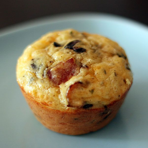 Quiche 'muffins' with Bisquick.  I/ve done this using Schwans bacon and using that for the crust.  Worked good!