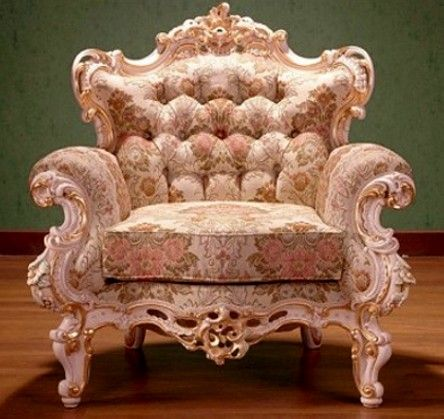 Gorgeous Rococo Chair French Style
