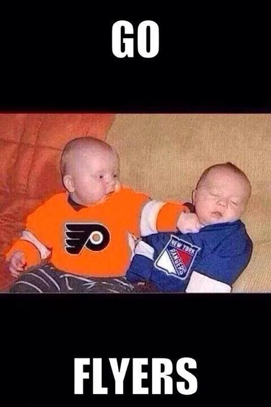 Let's go flyers.