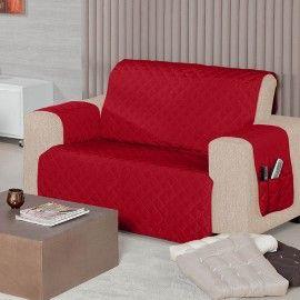 Protetor-de-Sofa-2-Lugares-Vermelho-Dallas---Juma
