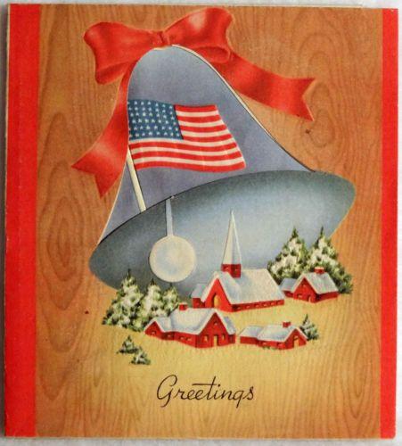 Wwii flag vintage american
