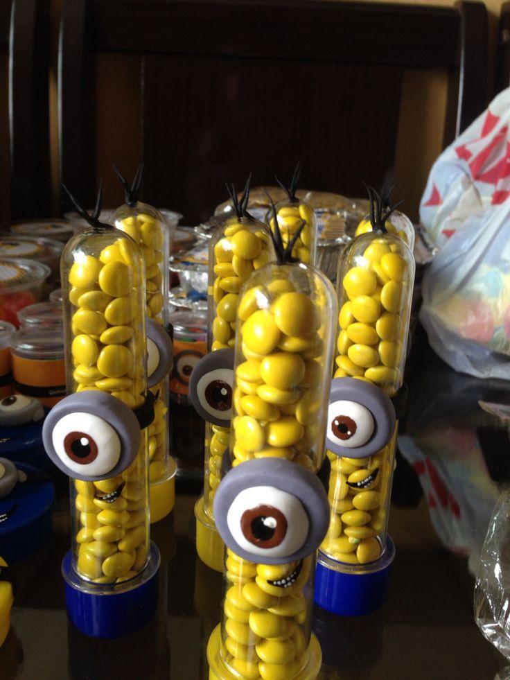 Festa Minions- Tubetes
