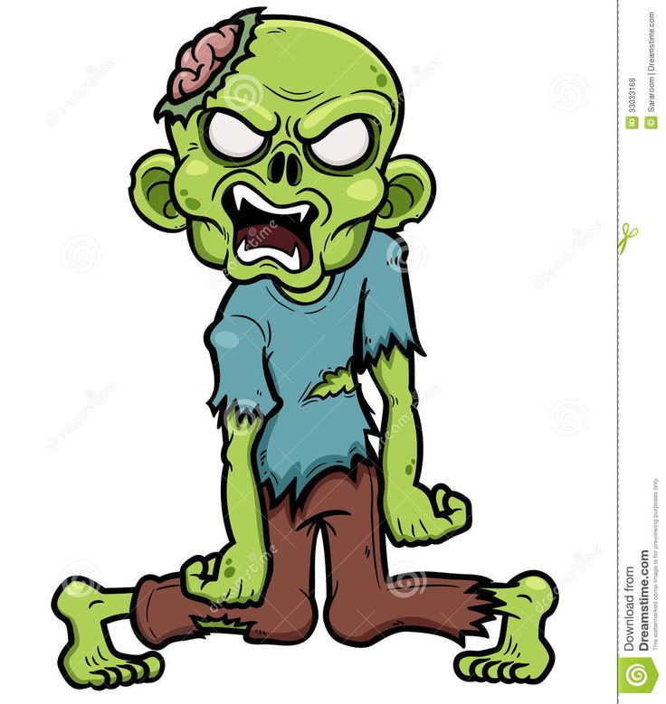 zombie-vector-illustration-cartoon-33033168.jpg (1228×1300)