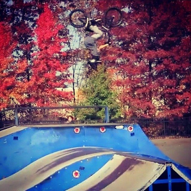 BMX will never be the same! Huge backflip from a ten year old BMXer - Brady Baker. http://www.instagram.com/bmxgroms Instagram photo by @bmxgroms (BMX Groms)