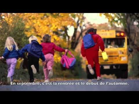 ▶ Les mois de l'année - YouTube. This is excellent. Short sentences ~ clear diction ~ great vocabulary