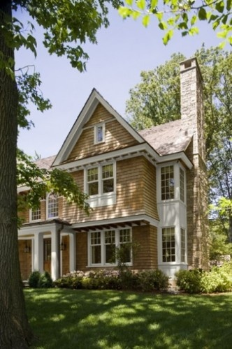 Cedar Shingle Chimney : Shingle house trim details exterior pinterest