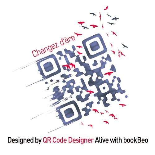 Création signée QR Code Designer pour la CCI de Grenoble / Ecobiz