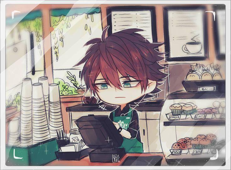 """"""" Anyone like some coffee?? """" - Oliver's work at Starbucks by プリンス K U R O"""