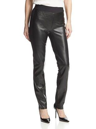 67% OFF NYDJ Women's Faux Leather Legging (Black)