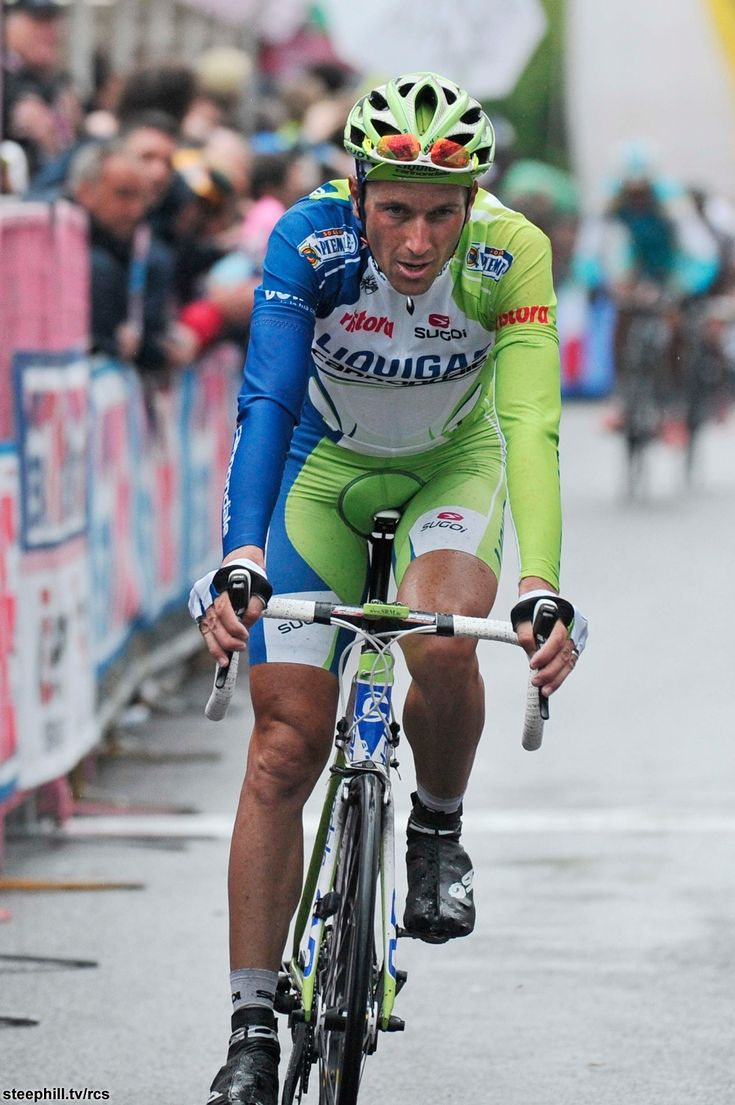 Giro d'Italia (2012) Photos; Stage 15: Busto Arsizio → Lecco/Pian dei Resinelli, 172 km - It was a better day than most people believed for defensive Ivan Basso as he moved up to 3rd overall + 1:22