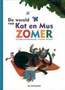 De wereld van Kat en Mus Zomer. Kat ziet een mus in de tuin. Hij wil Mus graag opeten. Maar Mus wil liever vrienden zijn. AVI-E3. Vanaf ca. 6,5 jaar.