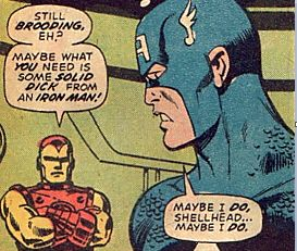 43 Out-Of-Context Comic Panels That Prove All Superheroes Have Dirty Minds // must follow the link and see them all. Most of the panels are funny but the situation is obvious; for this one, I just can't come up with a reasonable explanation
