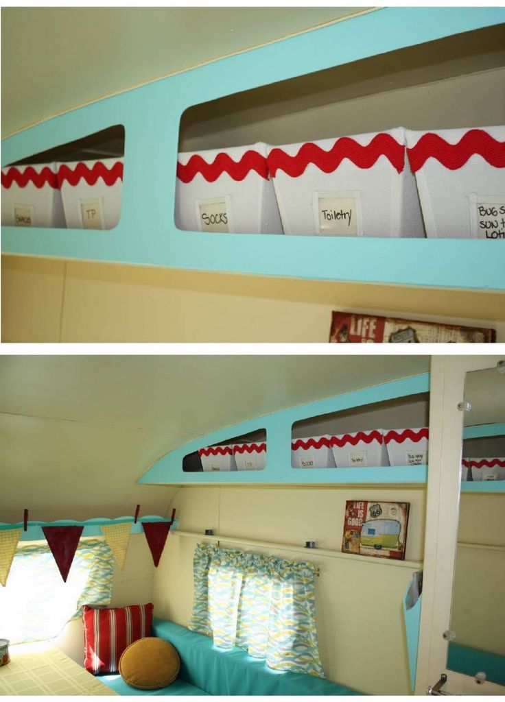 Such a good idea in our camper!! gonna use every bit of space!!