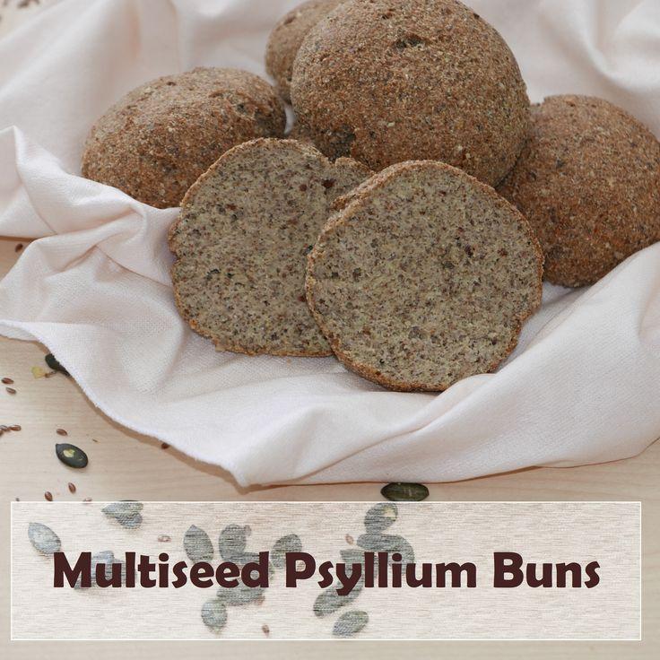 Multiseed Psyllium Buns | Paleo, Keto, Low Carb, Gluten-Free, Dairy-Free, Nut-Free