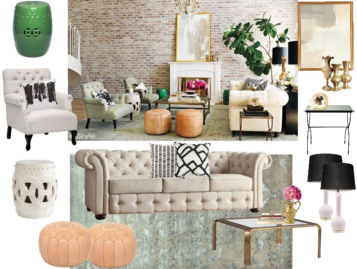 Lauren conrad living room decorating idea decoraci n for Decoracion hogar living