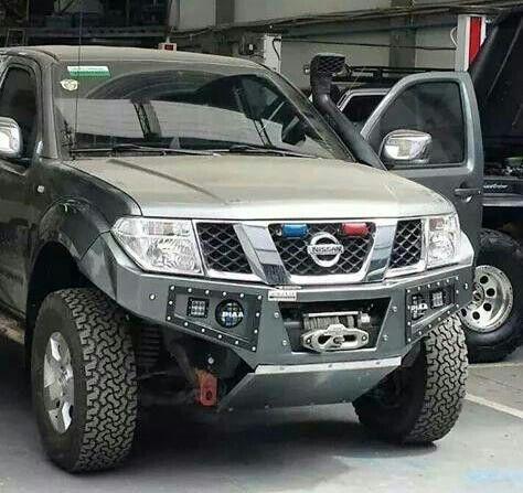 Custom Navara Bumper | Nissan Frontier Mods | Pinterest