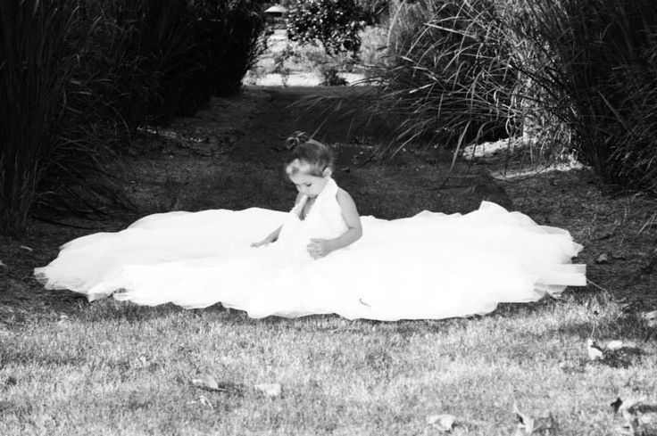 Photo of  daughter in moms wedding dress, I plan on framing it and giving it to her on her wedding day.