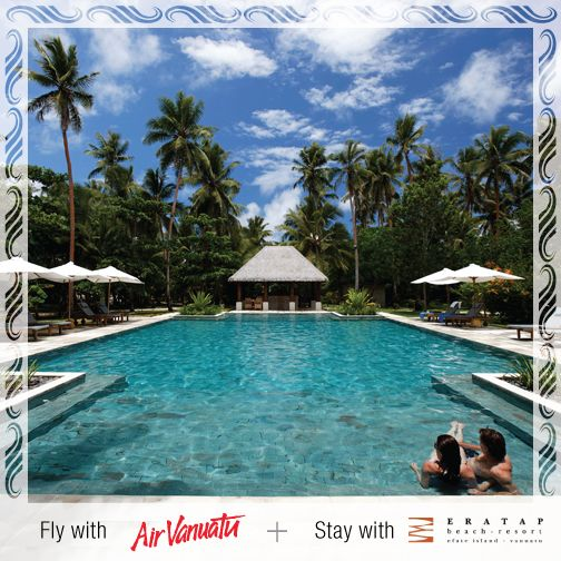 Eratap Beach Resort is the intimate, island resort you've been dreaming of, and we can get you there!   See our latest holiday deal: http://airvanuatu.specialistholidays.com.au/view_resort.php?v=146#package_1065  #AirVanuatu #EratapBeachResort #Resort #Beach #IslandResort