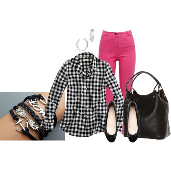 """Weekend Coloured Jeans #97"" by annabouttown on Polyvore"