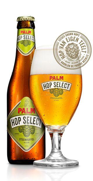 PALM Hop Select is een complex maar gebalanceerd degustatiebier van hoge gisting met een verstandig alcoholgehalte. Zijn specifieke hoparoma is afkomstig van de aromarijke hopvariant Hallertau Mittelfrüh. De zorgvuldig geselecteerde PALM-gist geeft dit bier zijn banaanachtige fruitigheid, de speciale PALM-mouten zijn subtiele karameltoets. De hergisting op fles verzekert een fijne pareling en uitstekende bewaring...
