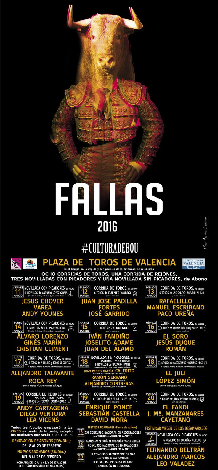Feria de Fallas 2016 | Valencia