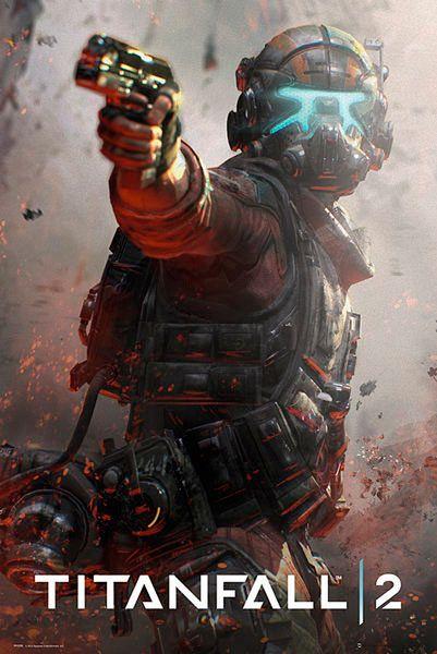 Póster Jack. Titanfall 2, portada. 61 x 91,5 cm  Póster basado en el video juego Titanfall 2.