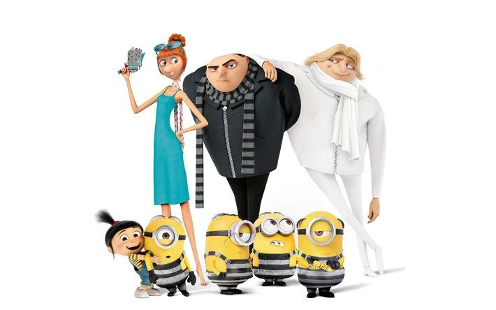 Pin On Despicable Me 3