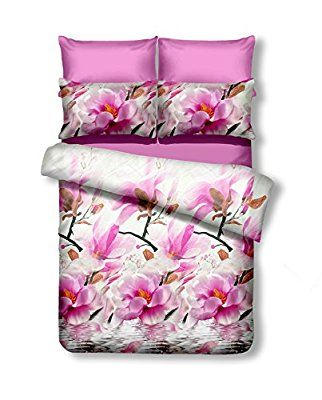DecoKing Premium 90602 Bettwäsche 200x200 Cm Mit 2 Kissenbezügen 80x80 3D  Bettwäscheset Bettbezüge Microfaser Bettwäschegarnituren Reißverschluss