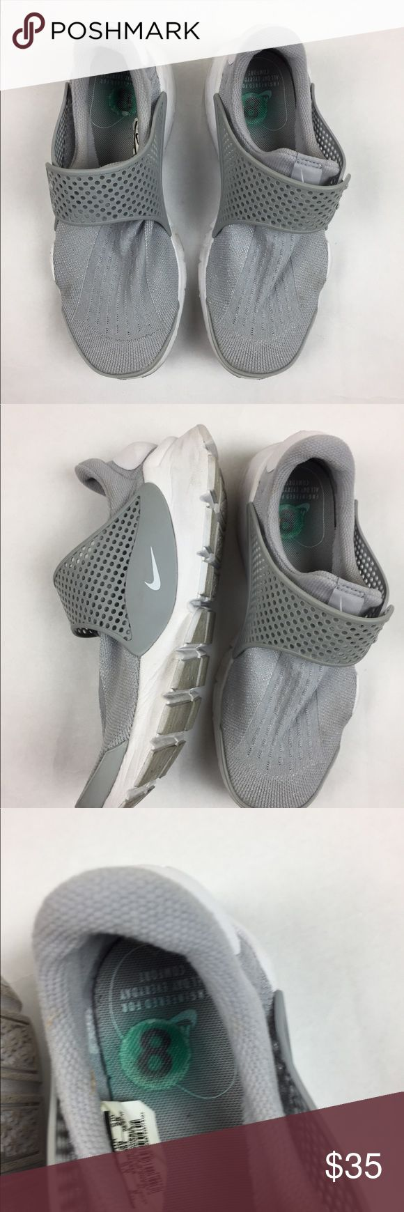 Nike Gray Athletic Shoes Size 8 Worn for one day Nike Shoes