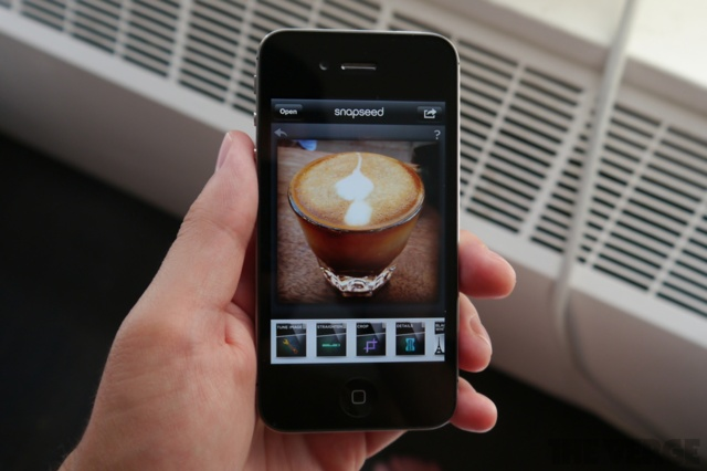 Google takes on Instagram and Facebook by acquiring top iOS photo app Snapseed | The Verge