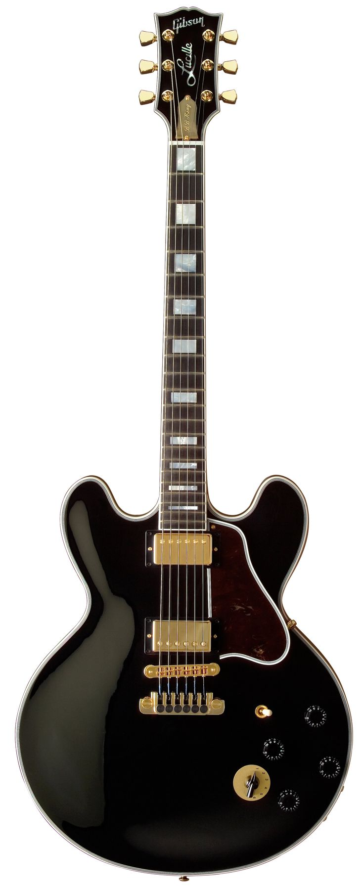 "B. B. King's ""Lucille"" (Gibson ES-355) beautiful #Guitar http://ozmusicreviews.com/music-promotions-and-discounts"