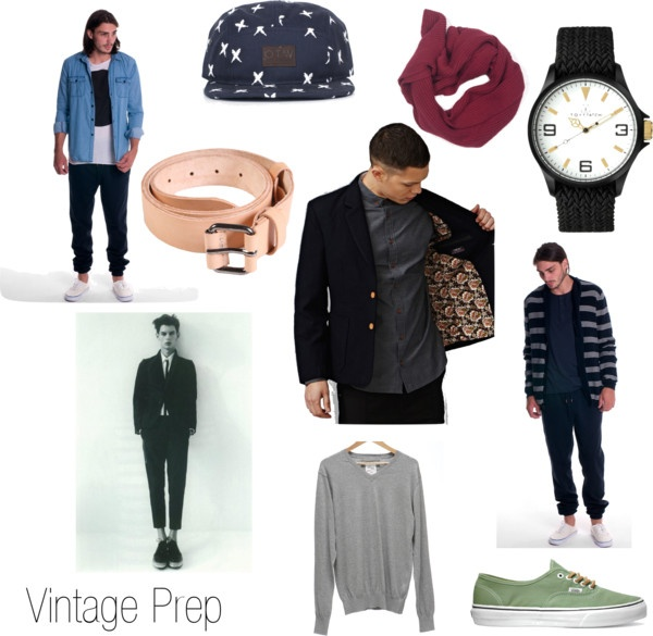 """VINTAGE PREP"" by superettestore on Polyvore"