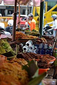 Market in Yogyakarta, Indonésie