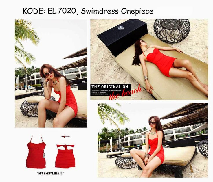 7020-220rb Jual swimsuit dress onepiece party cocktail beach