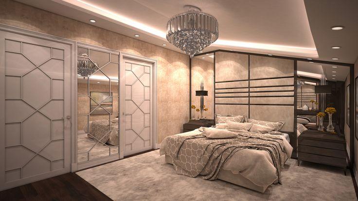 Master Bedroom 2 By Fadi Wardeh. 3D Max.