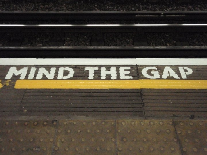 London Tube - Mind the Gap